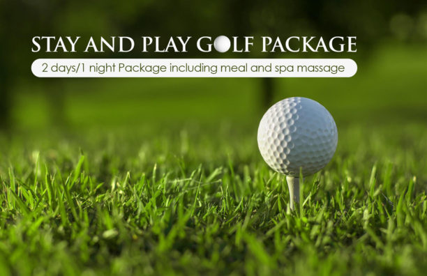 Stay and Play Golf Room Promotion